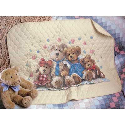 Одеяло детское. Медведи