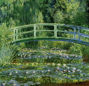 The Japanese Bridge (The Water-Lily Pond), 1897-99