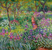The Iris Garden at Giverny, 1899-1900