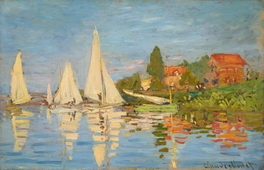 Regatta at Argenteuil, 1872