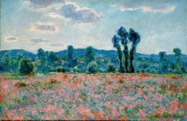 Poppy Field in Giverny 03, 1890