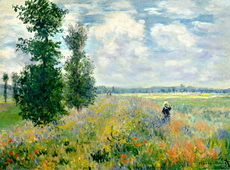 Poppy Field, Argenteuil, 1875