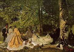 Luncheon on the Grass, 1865