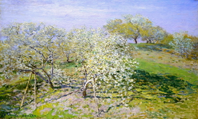 Apple Trees in Bloom, 1873