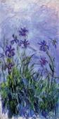 Lilac Irises, 1914-17