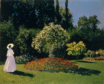 Jeanne Marguerite Lecadre in the Garden, 1866