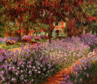 Irises in Monets Garden 02, 1900