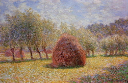 Haystacks at Giverny, 1895