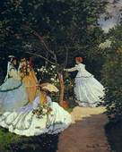 Women in the Garden, 1867
